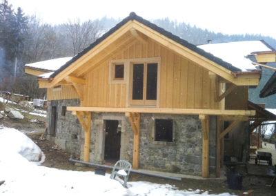 Extensions construction Pinget